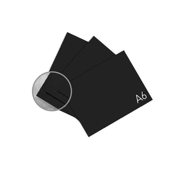 Черная бумага для каллиграфии А6