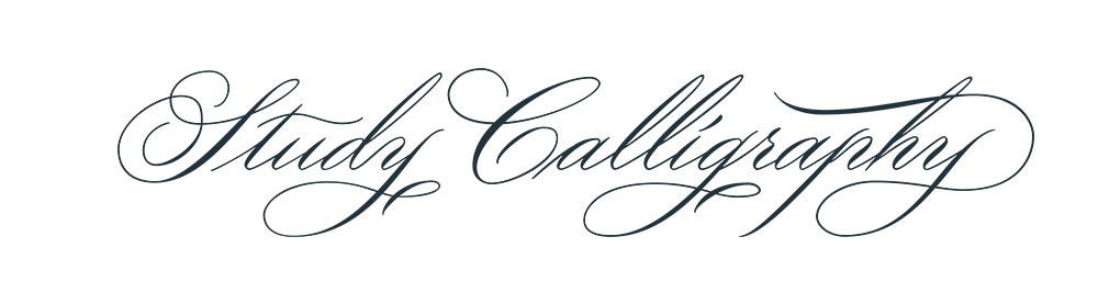 Study Calligraphy — инструменты и материалы для каллиграфии и леттеринга